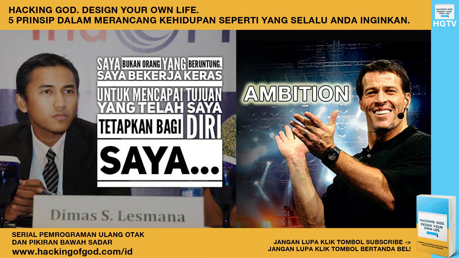 Video Motivasi – Ambition! Strategi, Ambisi, Yakin dan Percaya